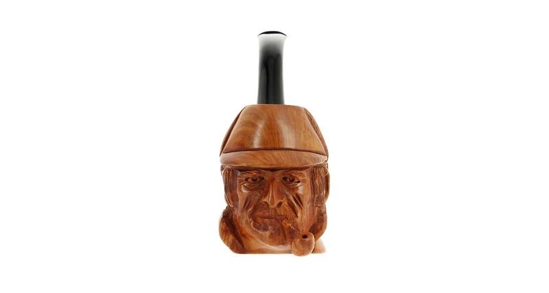 Une belle pipe en cadeau sculptée Pipe-c12