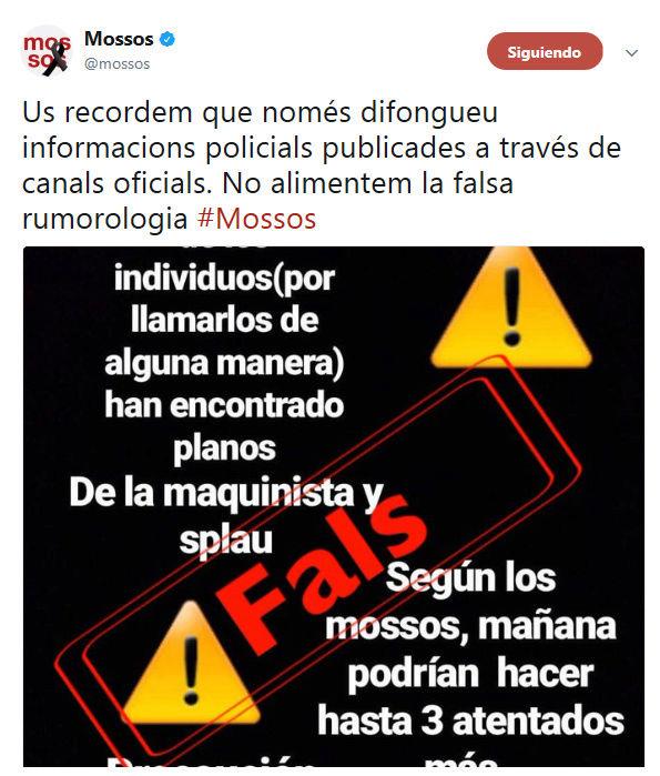 No alimentem la falsa rumorologia  #StopBulos No_dif10