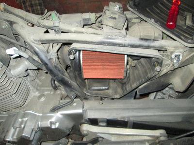 Crónica nigromántica: resurrección de una Honda CB250 de 1999 Filtro10