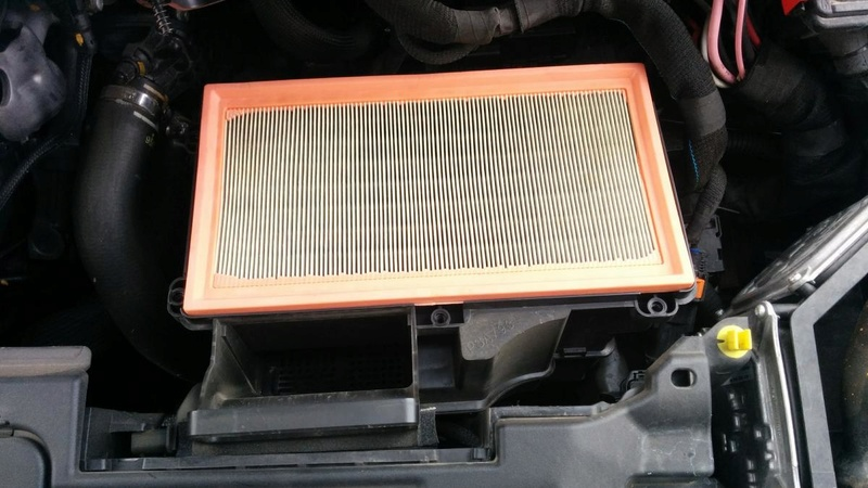 Cambio de filtro de Aire Centauro Filtro15