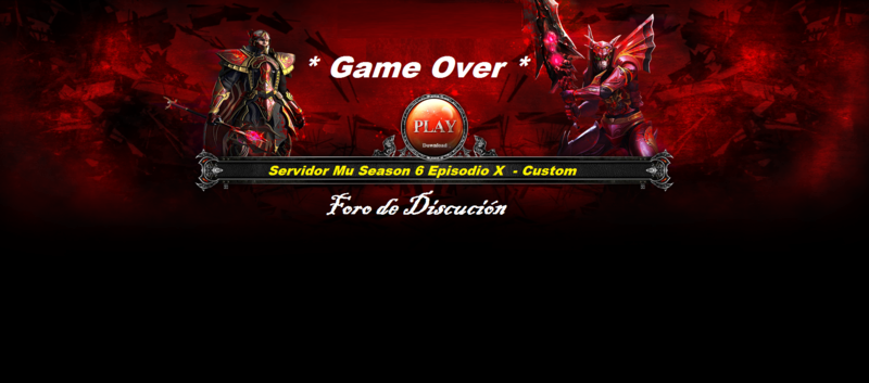 Foro de MU Game Over