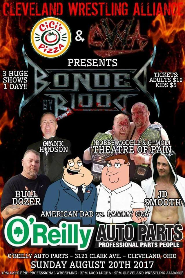 Cleveland Wrestling Alliance 20 Août 2017! Cwa10
