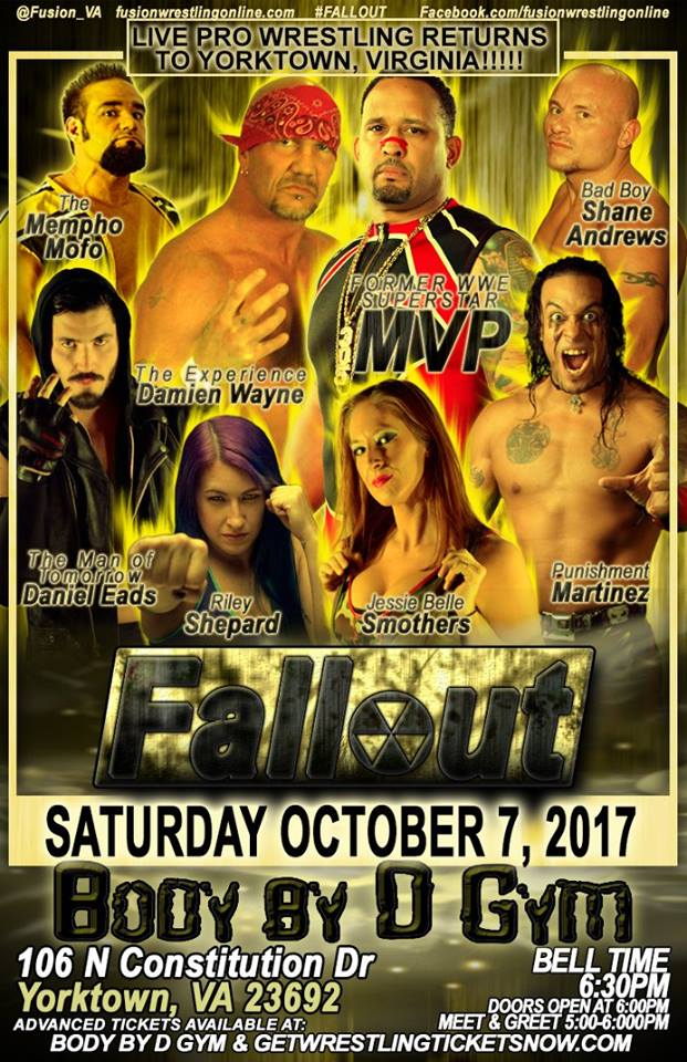 "Fusion Wrestling ""Fallout"" 7 0ctobre 2017! Fusion10"