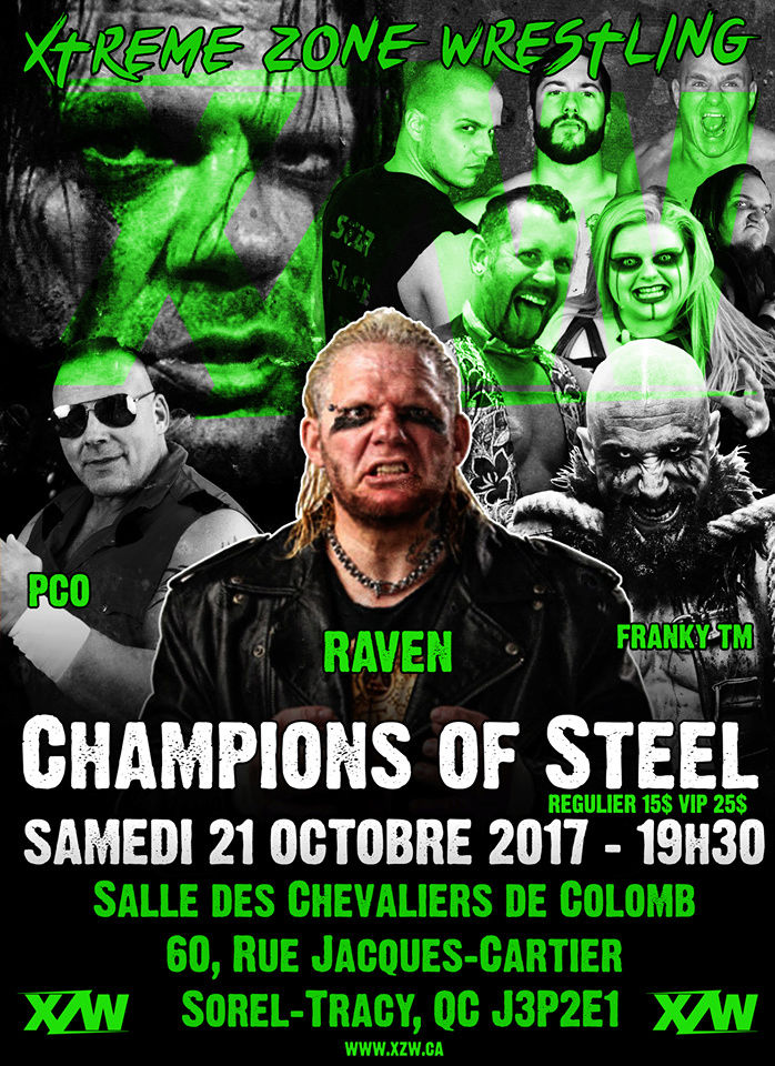 "Lutte XZW ""Champions of Steel"" 21 Octobre 2017 Xzw10"
