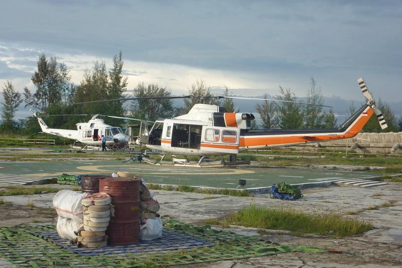Pedido- Zona de exploração petrolífera de Urucu - Coari 13010810