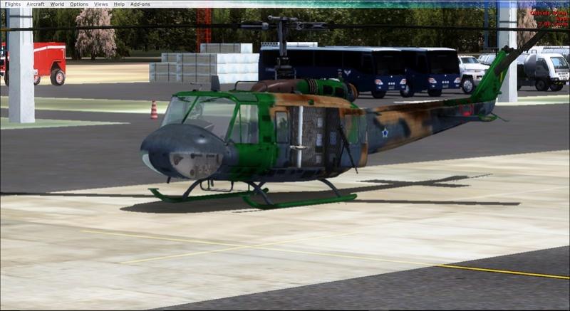 Bell  UH-1H ND Redux  Textura Pelicano da Fab... 2017-822