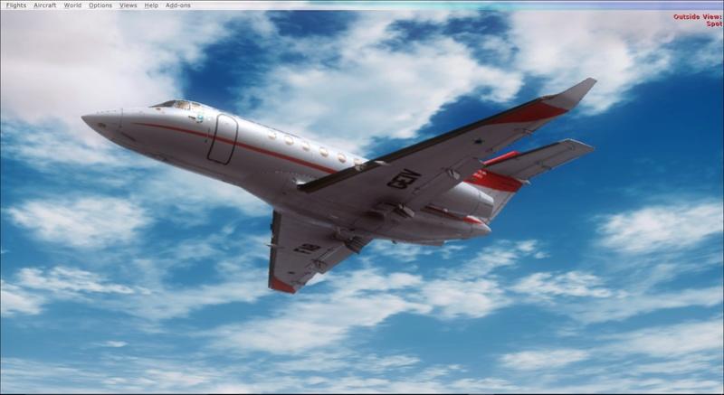 Hawker 800 do GEIV 2017-928