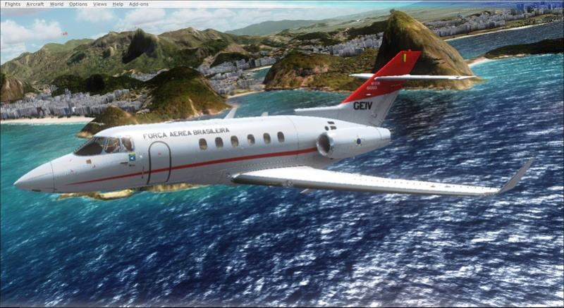 Hawker 800 do GEIV 2017-932