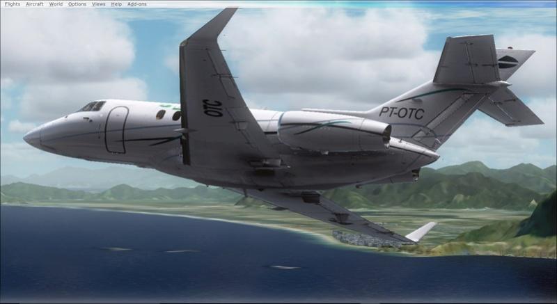 Hawker 850 da Líder Aviação 2017-934