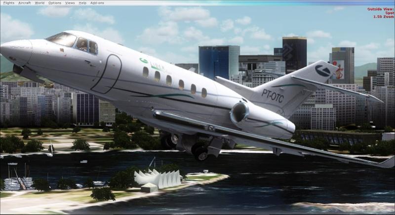 Hawker 850 da Líder Aviação 2017-935