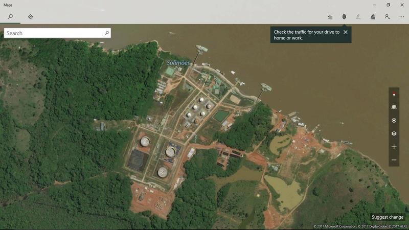 Pedido- Zona de exploração petrolífera de Urucu - Coari 9_4_2013