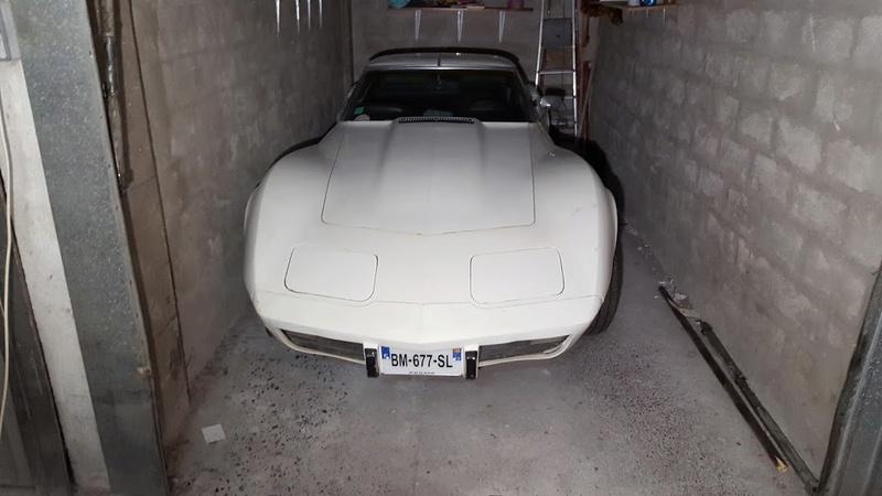 sortie de grange corvette  c3 1976 20170911