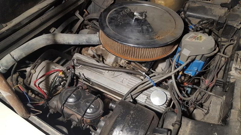 sortie de grange corvette  c3 1976 20170929