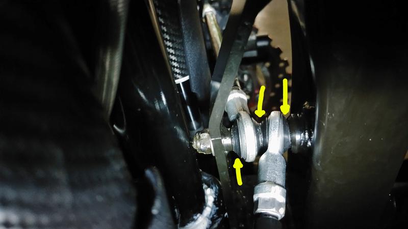 Barres et rotules de Carrossage QUADRO 4D Bielle10