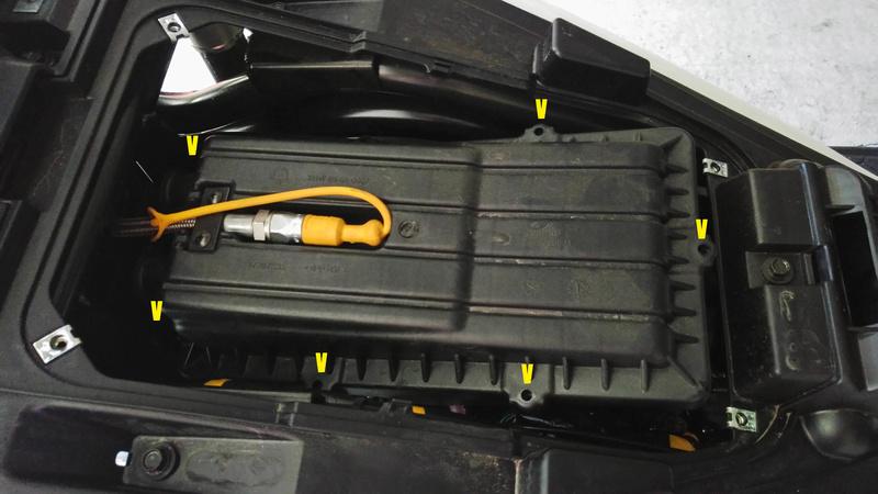 Contrôle & remplacement Filtre Air QUADRO 4D Filtre13