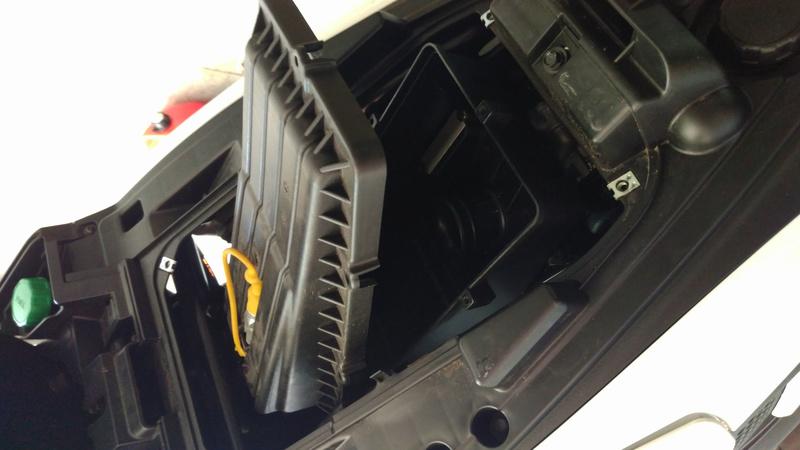 Contrôle & remplacement Filtre Air QUADRO 4D Filtre14