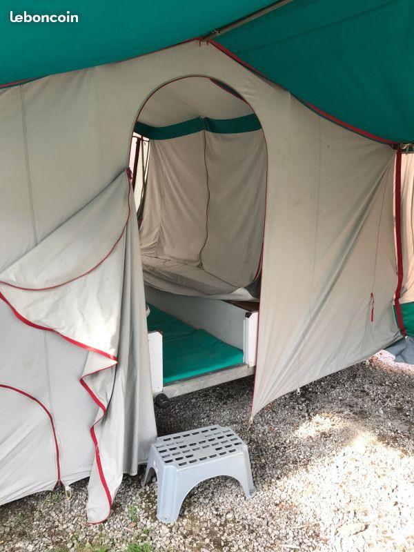 Caravane pliante toile Kingway - renseignement  437c7412