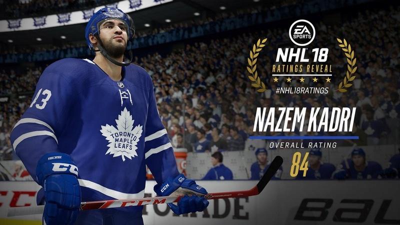 NHL 18 Player Ratings Dibkn911