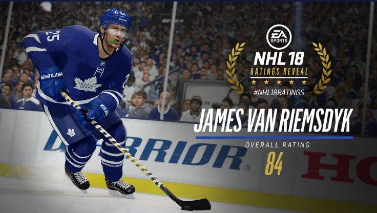NHL 18 Player Ratings Dikdzj10