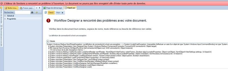 bug avec editeur de fonction Win7 64bit Erreur11