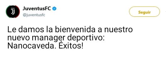Juventus Twitter Oficial 15036610