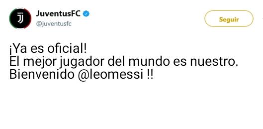 Juventus Twitter Oficial 15036611