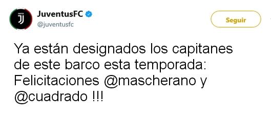 Juventus Twitter Oficial 15049011