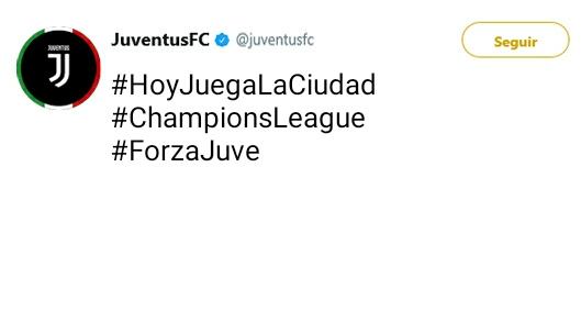 Juventus Twitter Oficial 15054710