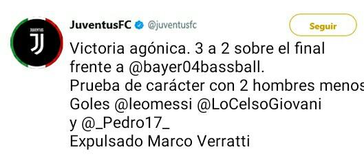 Juventus Twitter Oficial _2017010