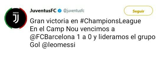 Juventus Twitter Oficial _2017110