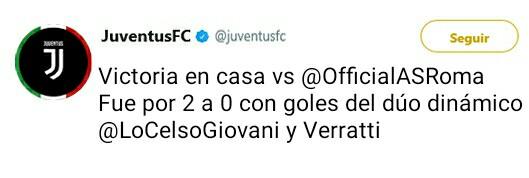 Juventus Twitter Oficial _2017111
