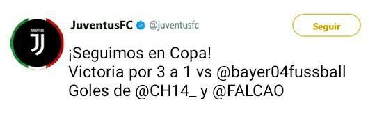 Juventus Twitter Oficial _2017112