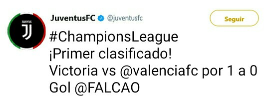 Juventus Twitter Oficial _2017113