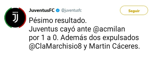 Juventus Twitter Oficial Twj310