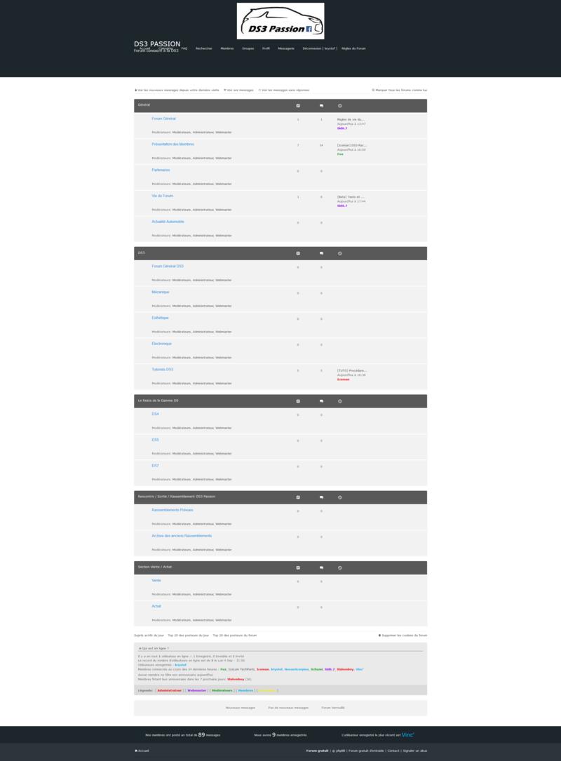 [Beta] Tests et bugs rencontrés sur la version beta Accuei10