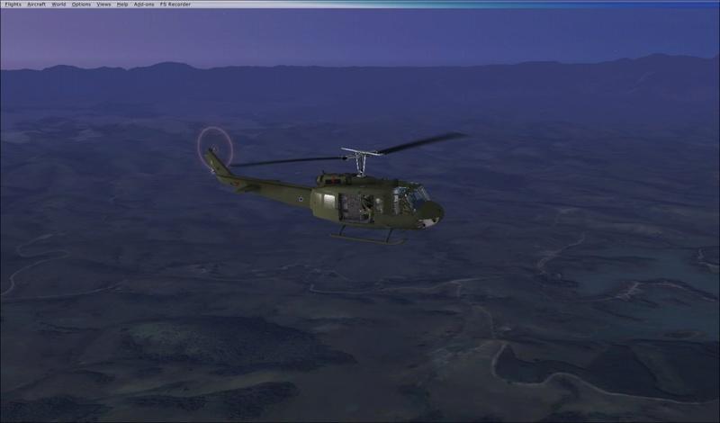 Bell  UH-1H ND Redux  Textura Pelicano da Fab... 2017-810