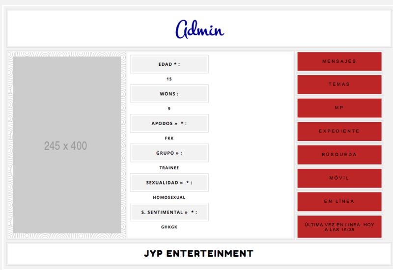 Colocar en columnas los campos de perfil en la página de consulta. Screen14
