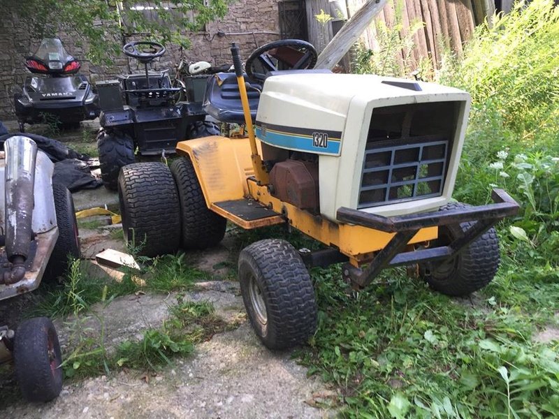 this is my cub cadet 1320 aka Outlaw 21208610