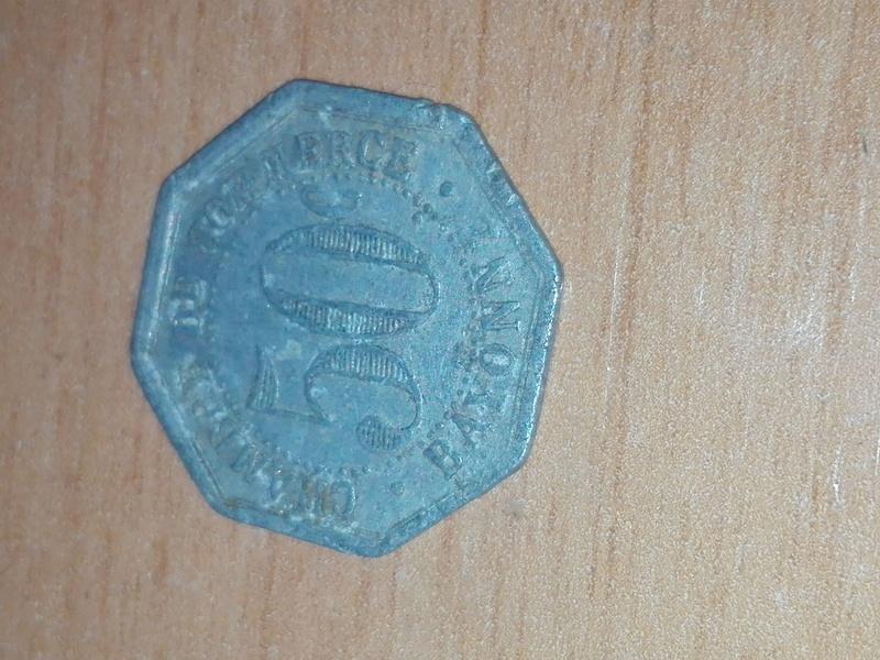Francia Bayona, 50 Céntimos 1920, Ficha cámara de Comercio de Bayona.      Img_2028