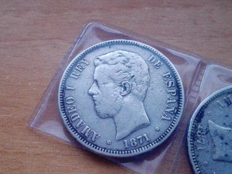 5 pesetas amadeo I estrellas 19 74 Img_2082