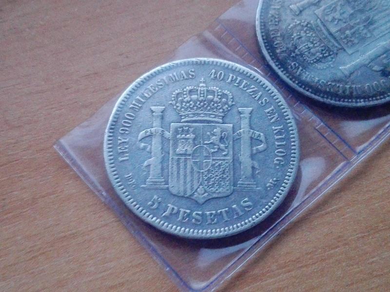 5 pesetas amadeo I estrellas 19 74 Img_2083