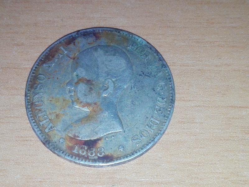 5 pesetas 1888 estrellas 18 88 Img_2088