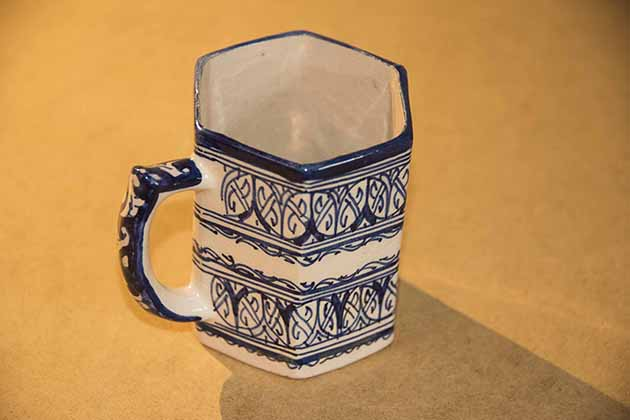 Fragile old cup - Dio. Fes, Morocco  Bcup210