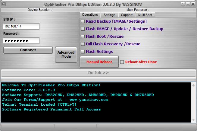 OptiFlasher Pro DMips EDition 114