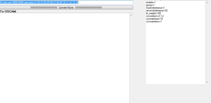 Conversor de N e C lines de MCS p/ OScam Reader Mcsn_t11