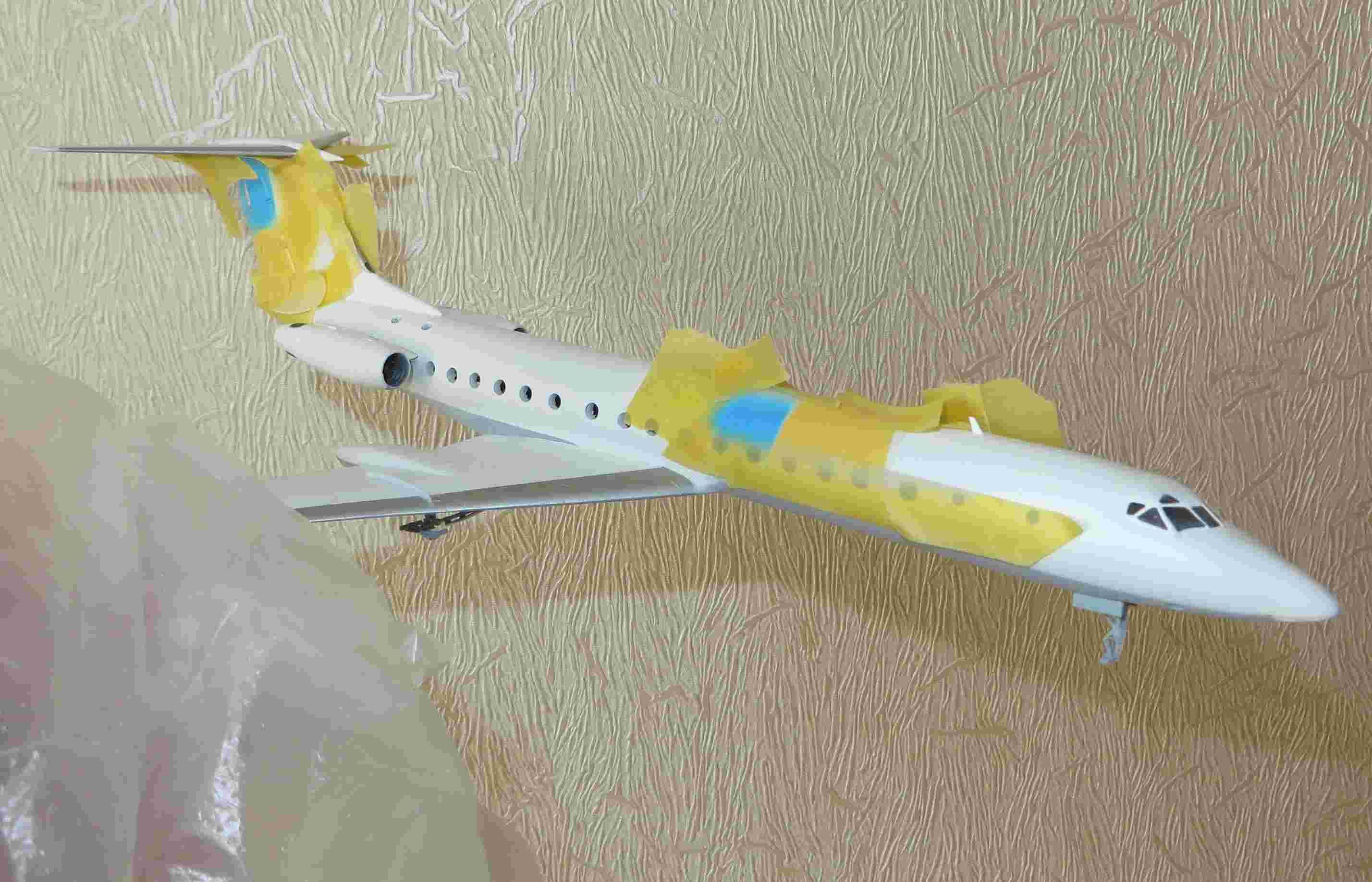 Ту-134Б-3 - RA-65694 - ZVEZDA 1/144 Img_5011