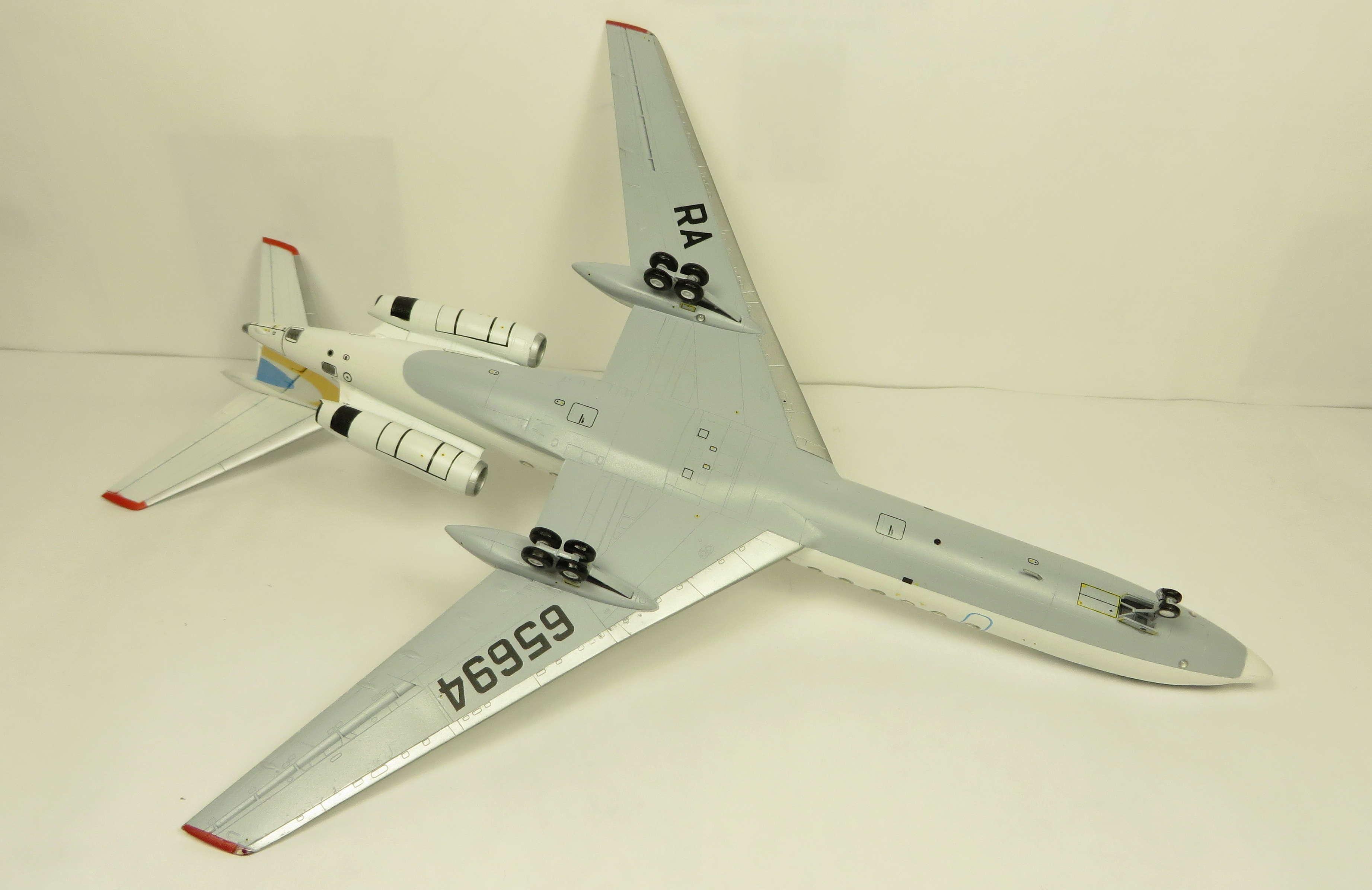 Ту-134Б-3 - RA-65694 - ZVEZDA 1/144 Img_6313