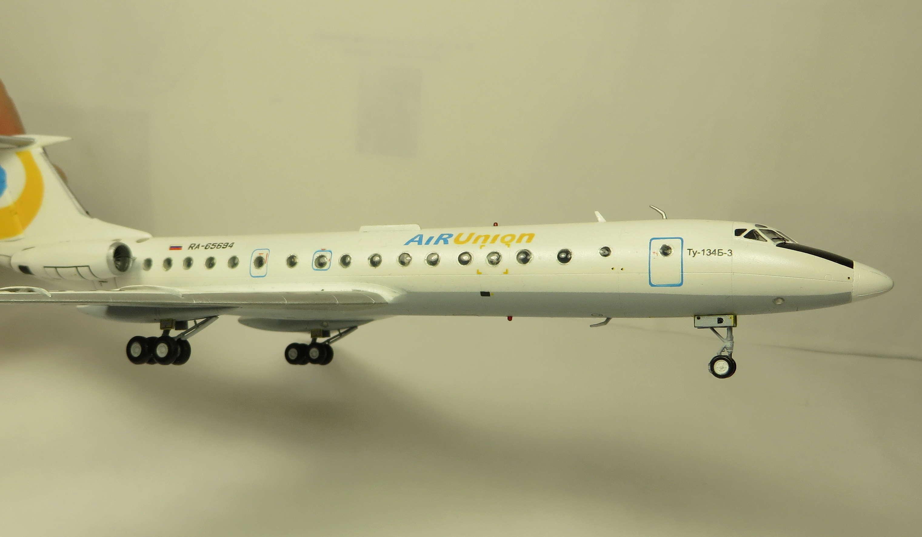 Ту-134Б-3 - RA-65694 - ZVEZDA 1/144 Img_6314