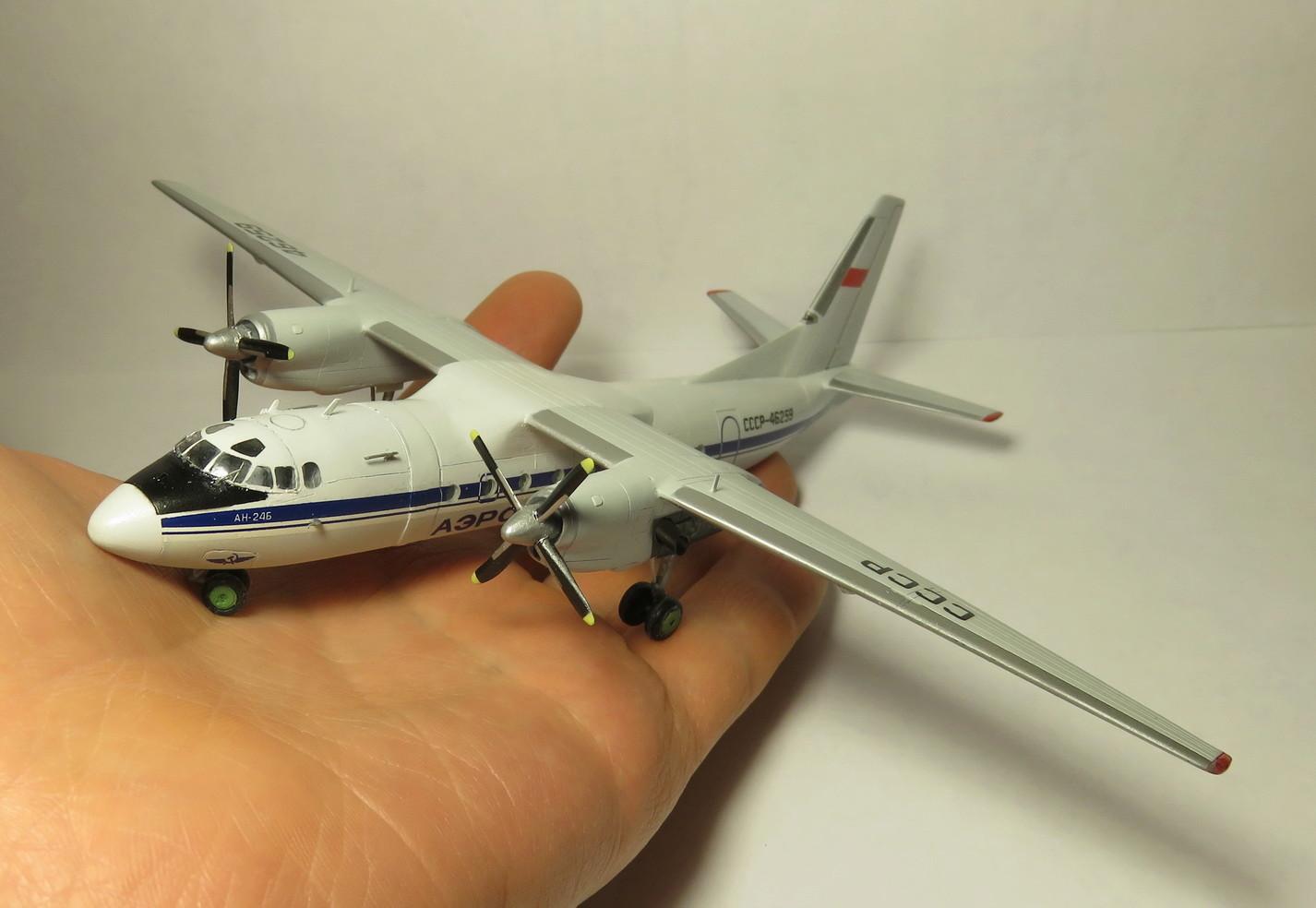 Ан-24Б СССР-46259 АЭРОФЛОТ 1-144 Восточный Экспресс Img_9019