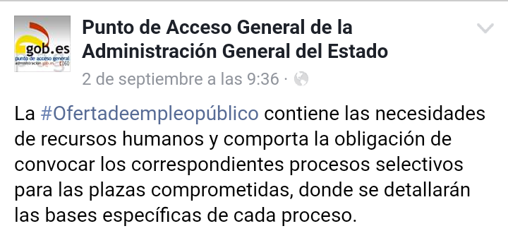 Punto de Acceso General de la Administración General del Estado Screen10